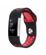 Colorful Silicone Straps For Fitbit Charge 2 Replacement Watchband Metal... - $10.98