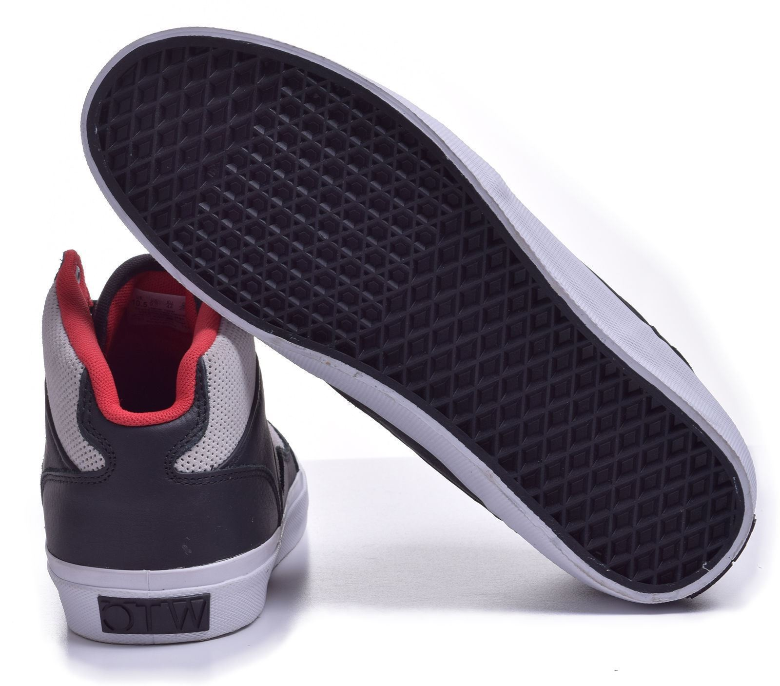 Vans Bedford (LS) Black/Moon OTW Skate Shoes MEN'S 6.5 WOMEN'S 8 image 4