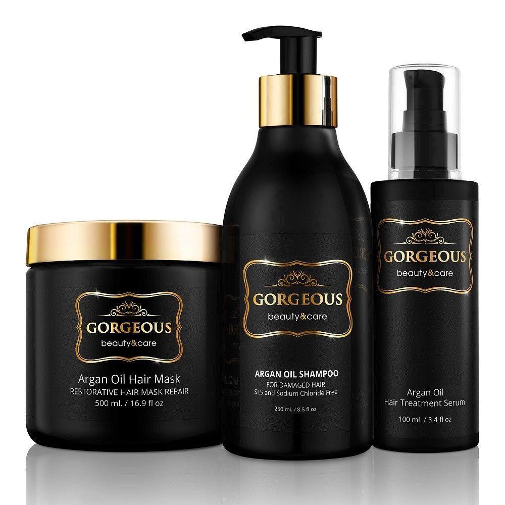 Premium Argan Oil Shampoo with Keratin- Sulfate Free