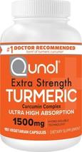 Qunol Turmeric Curcumin Capsules with Ultra High Absorption - $58.80