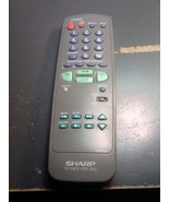 Sharp GA292SB TV-CATV-VCR-DVD Remote Control - $15.00