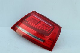 11-14 Audi A8 S8 Quarter Mnted Outer LED Taillight Combo Lamp Passenger Right RH image 2