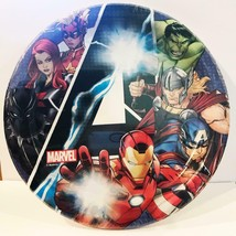 Marvel Avengers Unite Lunch Dinner Plates 8 Per Package Birthday Party Supplies - $3.91