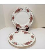 "2 Dinner Plates Paragon Elizabeth Rose 10.5"" England - $38.69"