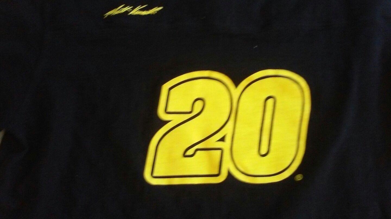 NASCAR Over the Wall men's 2XL Jersey Black Long Sleeve Signed by Matt Kenseth