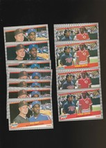 1989 Fleer Kirby Puckett Dwight Gooden #639 #635 Lot of  12 - $2.10