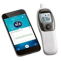 Philips Connected Digital Ear Thermometer, quic... - $43.54