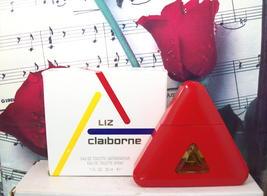 Liz Claiborne EDT Spray 1.0 FL. OZ. NWB. Vintage. Red - $44.99