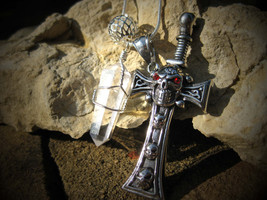Moonstar7spirits secret society skull and cross bones djinn used exclusively by  - $150.00