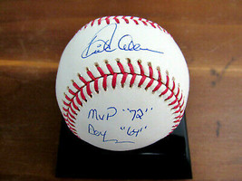DICK RICHIE ALLEN ROY 64 MVP 72 PHILLIES WHITE SOX SIGNED AUTO OML BASEB... - $148.49
