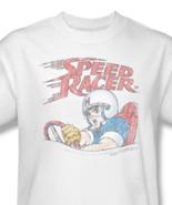 Speed Racer T-shirt retro 1980's Saturday Morning cartoon 100% cotton tee SPD100