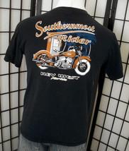 Southern Most Rider Key West Florida adult black motorcycle biker tee sh... - $18.95