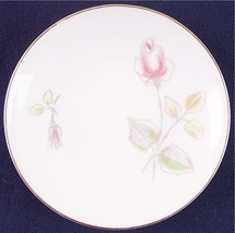 "Crown Royal Wedding Rose 4-3/8"" Demitasse Saucer Plate Bavaria Germany, ... - $5.99"