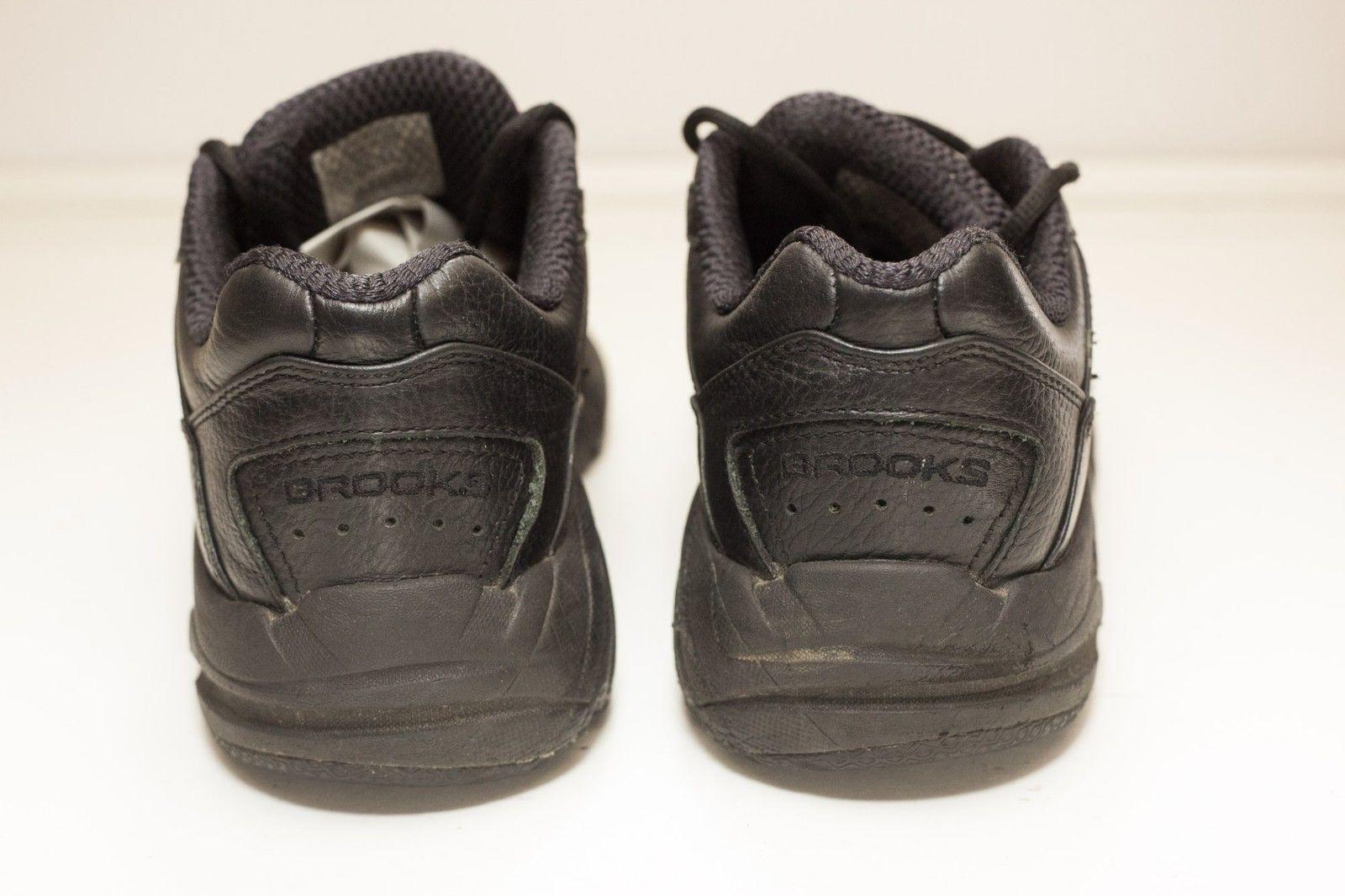 Brooks Addiction Size 10.5 2A Black Walking Shoes Women's