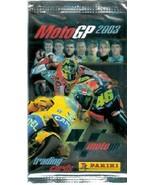 Moto GP 2003 Cards - Sealed Pack Panini MotoGP - $1.00