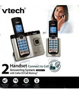 VTECH DS6621-2 DECT 6.0 CORDLESS PHONE SYSTEM WITH ANSWERING & 2 HANDSET... - $39.95