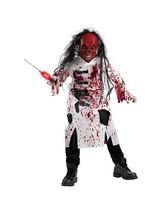 Demented Doctor Child Costume - Medium - $46.49