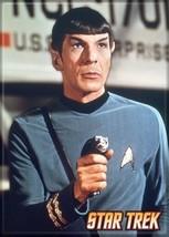 Star Trek: The Original Series Spock Holding a Phaser Magnet, NEW UNUSED - $3.99