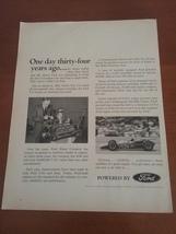 Vintage 1965 Ford Motor Company Life Magazine Ad - $8.95