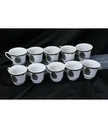 Pacific Rim Xmas Tree Cups Lot of 10 - $39.19