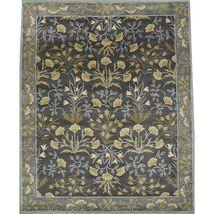 Area Rug Pottery Barn Adeline Blue rug 3x5 2.5x9 5x8 8x10 9x12 Handmade ... - $190.00+