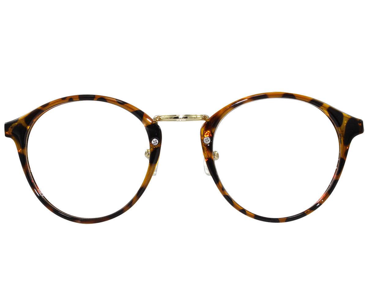 8220653bd6b6 EBE Reading Glasses Mens Womens Round Frame Tortoise Horned Rim Anti Glare  RX