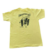 VTG 90s BRATFEST 12 T-Shirt-Sz L Yellow Single Stitch Hawthorne House Tu... - $20.36