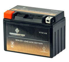 YTZ14S Rechargeable AGM Battery for Honda DN-01 (2009-2013), Honda CB110... - $37.31
