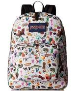 OEM Jansport Superbreak Multi Stickers Backpack (JS00T5010KN); 1550 Cubi... - $21.49