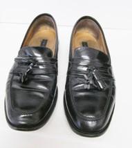 Bostonian First Flex Tassel Loafers Slip On Shoes Tassel Black Men's Sz 10.5 M - $27.95