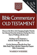 Bible Commentary Old Testament Nelson's Pocket Reference Series Wiersbe,... - $4.95