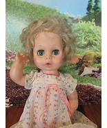 """15 FL 2 EEGEE  Blonde Hair /l Blue eyes Drink And Wet 14"""" Baby Doll - $19.80"""