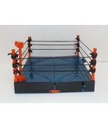 Vintage 1999 Toy Biz WCW 4 Corner Ring Fighter Ultimate Wrestling Ring {... - $29.69