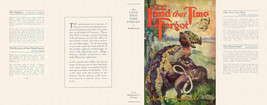 Edgar Rice Burroughs THE LAND THAT TIME FORGOT facsimile jacket 1st Gros... - $21.56