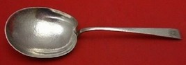 "Arts and Crafts by Durgin Sterling Silver Berry Spoon Large, Hammered 9""... - $389.00"