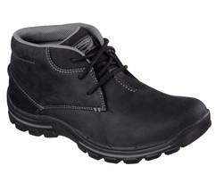 Men's SKECHERS Relaxed Fit Braver Horatio Boot, 64864 /BLK Size 14 Black - £71.07 GBP