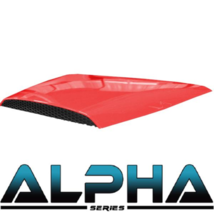 Golf Cart Hood Scoop Red for Alpha Body Kit Street/Off Road Styles Free ... - $68.60