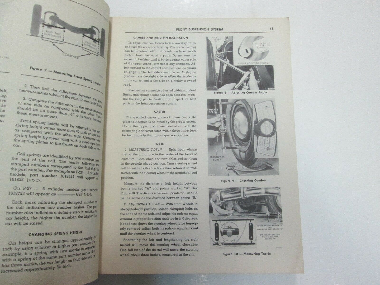 1955 Plymouth Plaza Savoy Belvedere PowerFlow 6 Hy-Fire V8 Service Shop Manual