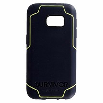 Samsung Galaxy S7 Case, Survivor Journey Slim Protective Case Denim/Citron - $6.33