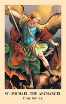 Prayer to St. Michael Prayer Card (10 Packs of 100)