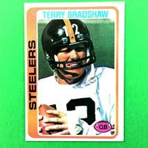 Terry Bradshaw 1978 Topps Card #65 NFL HOF Pittsburgh Steelers - $6.88