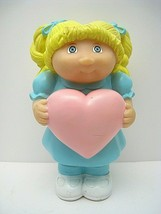 Vintage Cabbage Patch 1983 Blonde Piggy Bank With Heart - $28.98