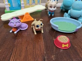 Disney Junior Puppy Dog Pals Stow N' Go Playset with Figures and Accessories  - $33.85