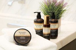 Keratin de Luxe Premium Shampoo,Conditioner, Hair Mask and Hair Oil set - $89.00