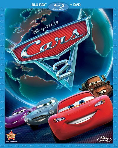 Disney Cars 2 (Two-Disc Blu-ray Combo)