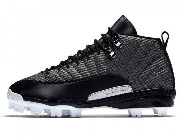 brand new b2a40 45630 57. 57. Previous. NIKE AIR JORDAN XII 12 MCS RETRO BASEBALL CLEATS SIZE 7.5  NEW (854566-010 · NIKE AIR JORDAN ...