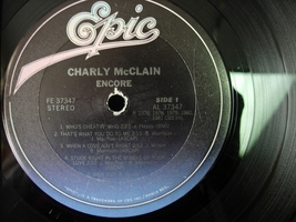 Charly McClain - Encore - Epic Records 37347 - $3.00