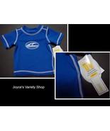 Koala Baby Boys Newborn Swim Shirt NWT Short Sleeves UV Protection UPF 5... - $10.99