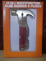 12-IN-1 Multifunction Claw Hammer & Pliers - $19.79