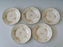 Homer Laughlin Maple Leaf Five Bread & Butter Plates - $29.99
